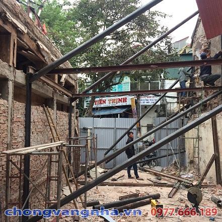 Chống văng nhà quận Hoàng Mai