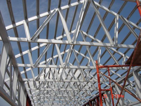 khung thép mái tôn tại hà nội