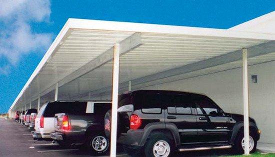 mái xếp nhà để xe