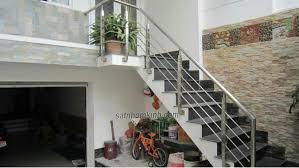 Cầu thang inox giá rẻ
