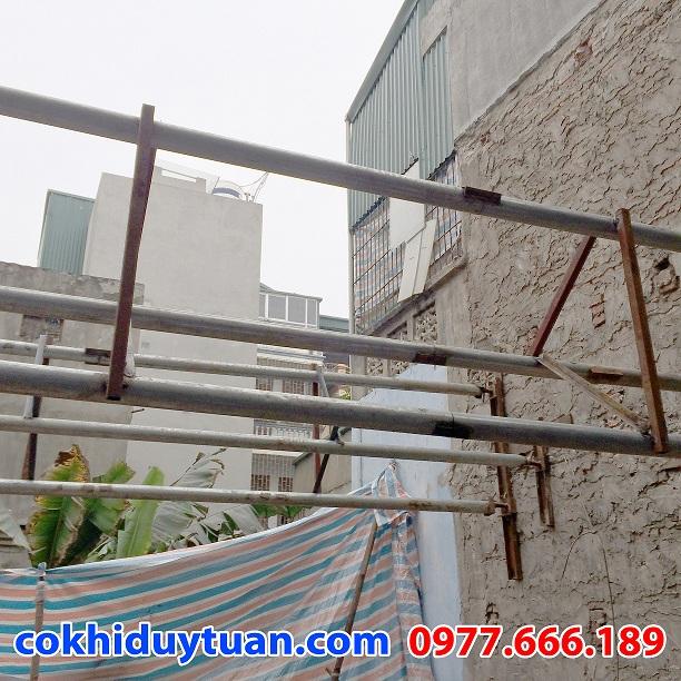 Chống văng công trình - chống văng nhà tại Cầu Giấy - Hà Nội