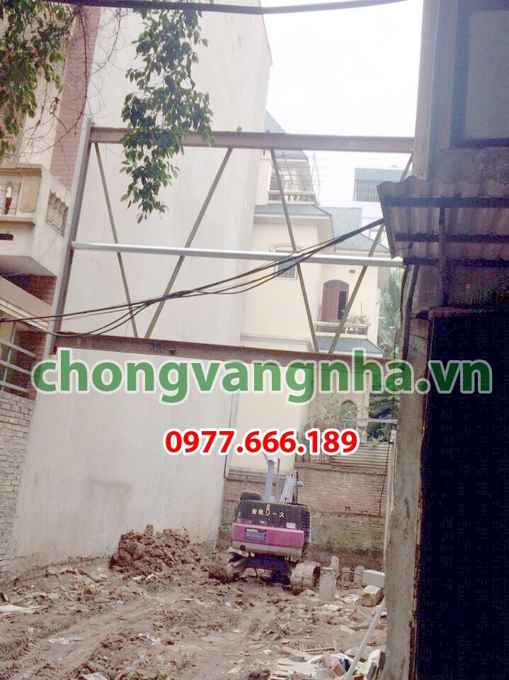 Chống văng công trình, chống văng nhà tại Quận Hai Bà Trưng - Hà Nội