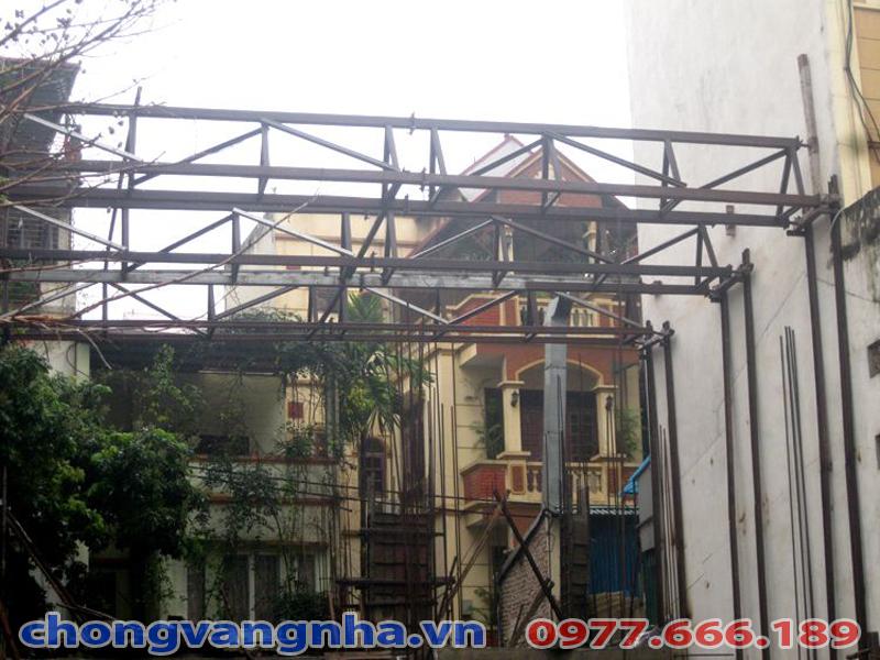 Giải pháp thi công chống văng nhà tại số 56 Phố Huế