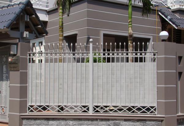 Mẫu hàng rào 01