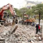 Phá dỡ công trình tại Số 28 Trần Cung – Cầu Giấy – Hà Nội