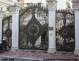 Tổng hợp các mẫu cổng inox đẹp cho biệt thự