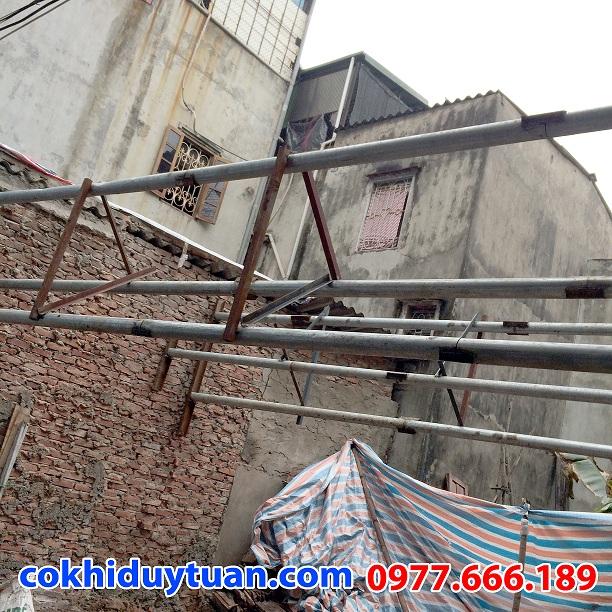Thi công chống văng nhà tại Trần Hưng Đạo, Quận Hoàn Kiếm