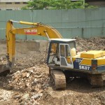 Vận chuyển đất thải đào móng công trình tại Hà Nội