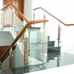 Cầu thang kính – Lan can kính cường lực công nghệ cao