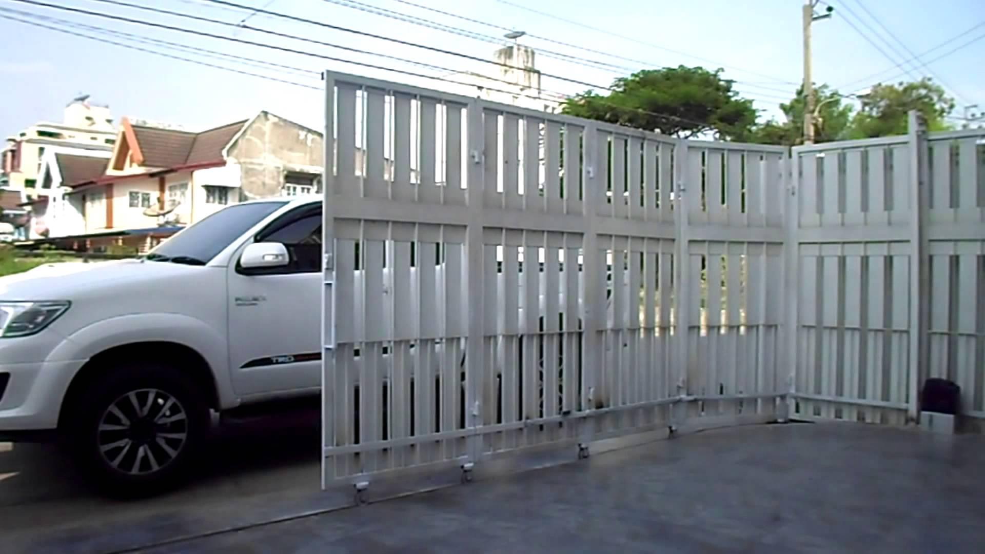 cổng inox trượt ngang