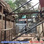 Thi công chống văng nhà tại Lý Thái Tổ, Quận Hoàn Kiếm