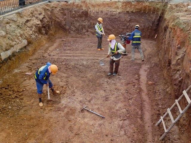 giá đào móng nhà tại Hà Nội của Công Ty Duy Tuấn