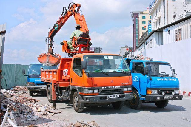 giá vận chuyển phế thải phá dỡ công trình tại Hà Nội