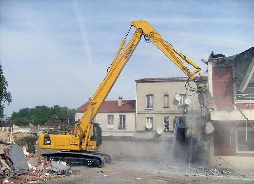 phế thải phá dỡ công trình