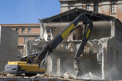 quy trình phá dỡ nhà