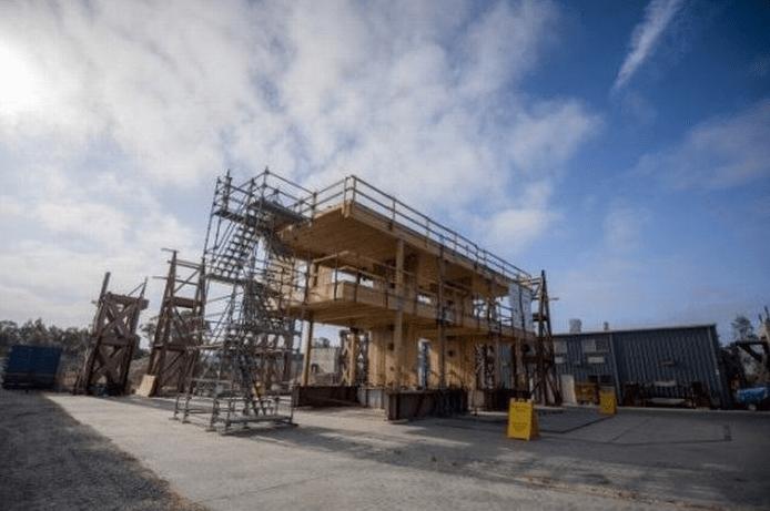 nhà bằng gỗ 20 tầng không chịu thiệt hại từ động đất