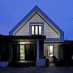 Căn nhà một tầng có gác lửng cực đẹp tại Quảng Bình đáng để học