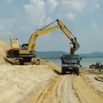 Giá cát xây dựng Hải Phòng tăng nhẹ