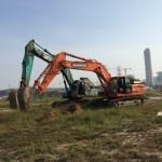 Dịch vụ đào kênh mương, ao hồ, đào đường ống kỹ thuật tại Hà Nội
