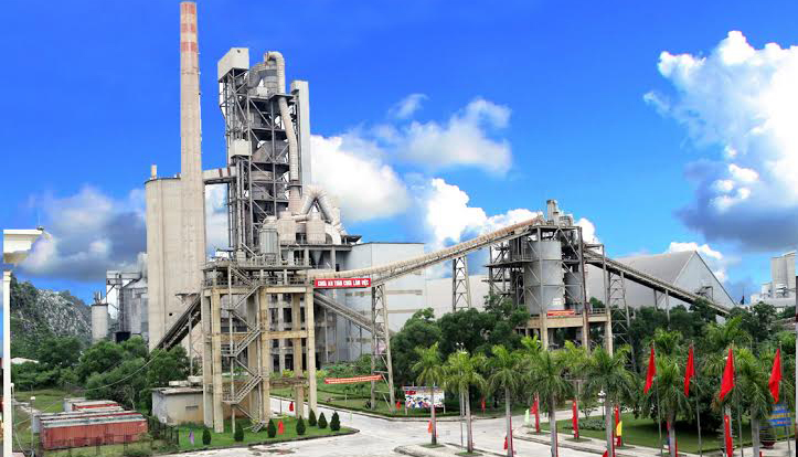 Dây chuyền sản xuất xi măng