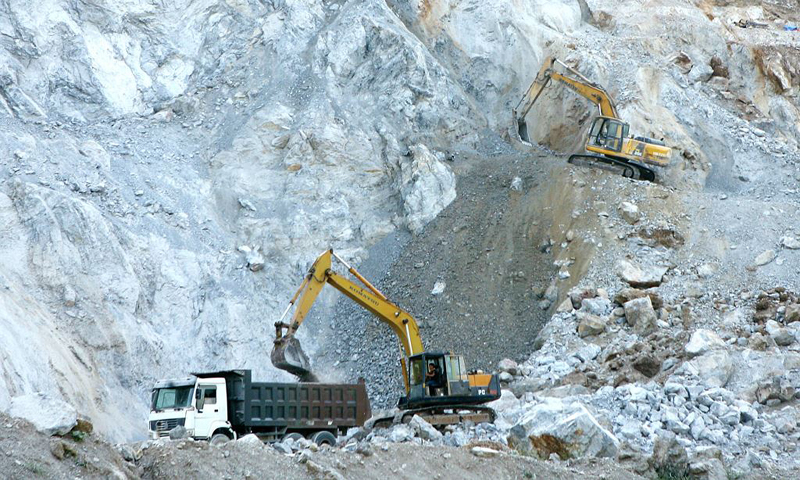 khai thác khoáng sản